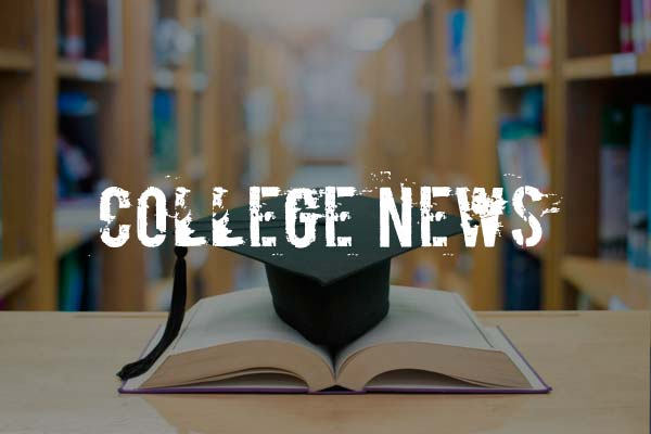 Website Design Example: College News