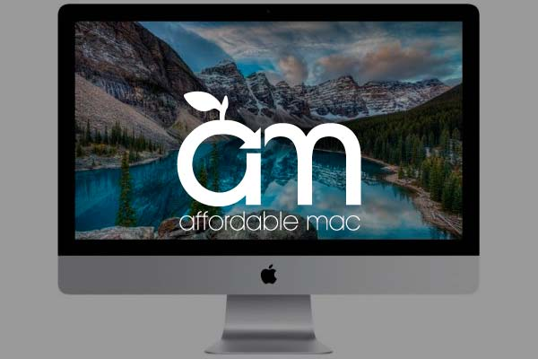 Website Design Example: Affordable Mac